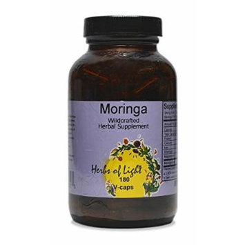 Moringa Botanical Multi-Vitamin 400mg Herbs of Light 180 VCaps