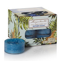 Margaritaville By Yankee Candle Margaritaville® by Yankee Candle Mother Ocean Mother Ocean Tealight Candle 12-piece Set, Dark Blue