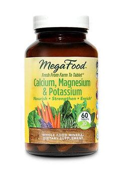 Cal, Mag & Potassium DailyFoods - Vegetarian MegaFood 60 Tabs
