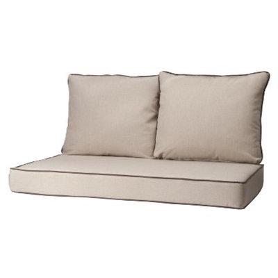 Grand Basket Rolston 3-Piece Outdoor Replacement Loveaseat Cushion Set -