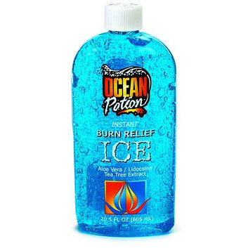 Ocean Potion Burn Relief Ice Gel