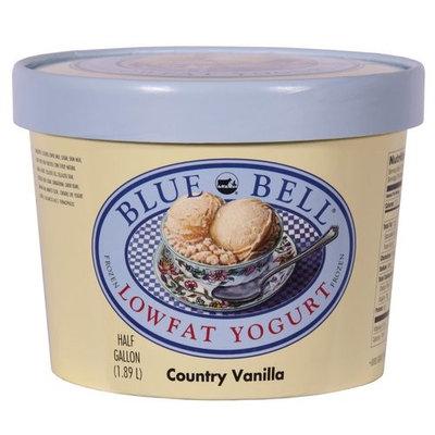 Bluebell Blue Bell Lowfat Country Vanilla Yogurt, 1.89 L