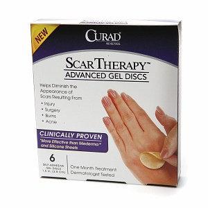 Curad Advanced Scar Therapy Advanced Gel Discs