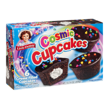 Little Debbie Cosmic Cupcakes - 6 CT