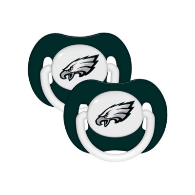 Baby Fanatic Philadelphia Eagles Pacifers - 2 Pack