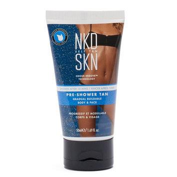 NKD SKN Pre-Shower Tan Gradual Buildable Mini Body & Face Cream, Multi/None