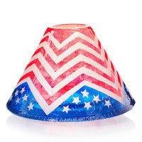 Yankee Candle Patriotic Chevron Jar Candle Shade, Multi/None