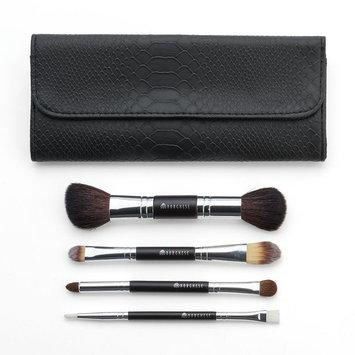Borghese 4-pc. Dual-Ended Professional Select Makeup Brush Set, Black