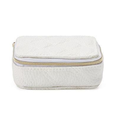 Mirror Mirror Bridal Pill Box, White