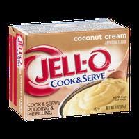 JELL-O Cook & Serve Pudding & Pie Filling Coconut Cream