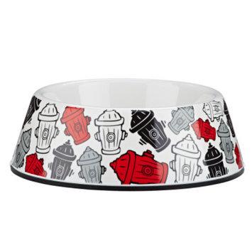 Top PawA Fire Hydrants Dog Bowl
