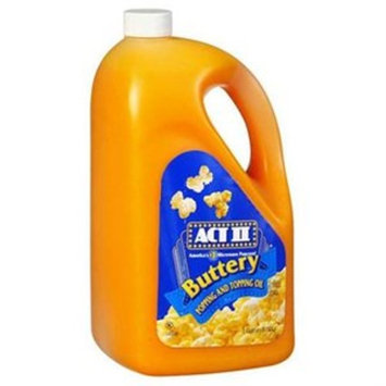 ACT II Popping and Topping Oil - 1 gal. jug