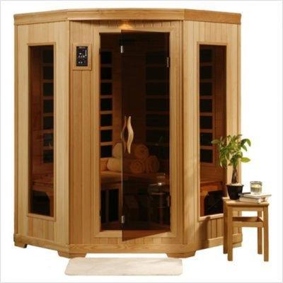 Heatwave Santa Fe 3 Person Carbon Infrared Home Sauna