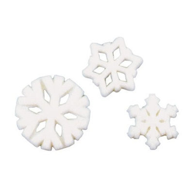 Luck's Lucks Dec-Ons Snowflake Assortment, 15 pk