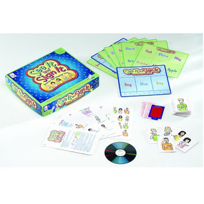 See It and Sign It Intro to ASL Game Ages 7+