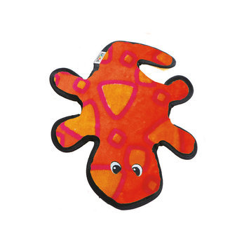 Outward Hound Invincibles Gecko Dog Toy - 2-Squeaker