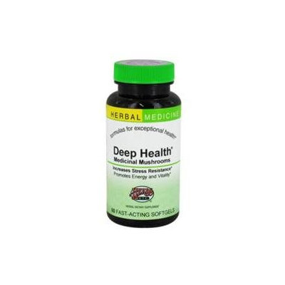 Herbs Etc - Deep Health Medicinal Mushrooms Alcohol Free - 60 Softgels
