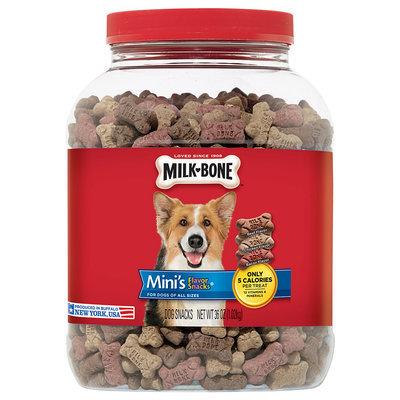 Milk-Bone Mini's Flavor Snacks Dog Biscuits - 36 oz