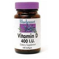 Bluebonnet Nutrition - Vitamin D3 400 IU - 100 Softgels