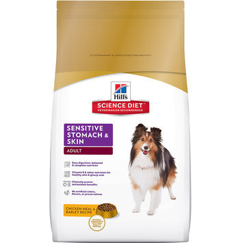 Hill's Science Diet Hills Science Diet Sensitive Stomach and Skin Adult Dog Food Chicken Meal and Barley