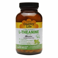 Country Life L-Theanine Mint - 100 mg - 60 Smooth Melts