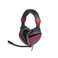 Monoprice Fragz SP Headset for PC - Black/Red