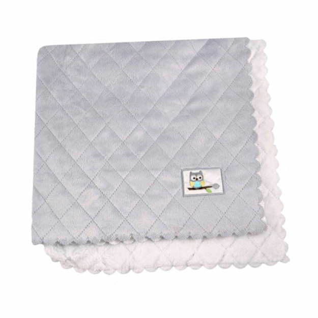 Child of Mine by Carter's Treetop Friends Quilted Plush Blanket