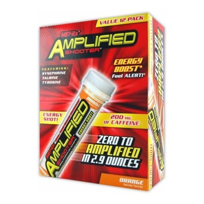 MET-Rx Amplified Energy Shooter - Fruit Punch, 2.9-Ounce 12-Count