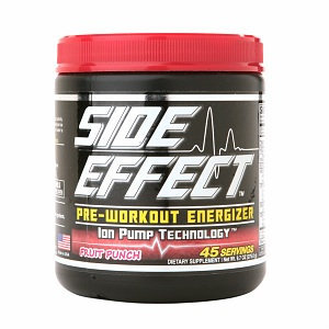 Side Effect Pre-Workout Energizer Ion Pump Technology