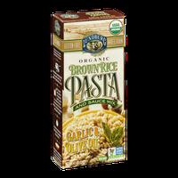 Lundberg Organic Brown Rice Pasta and Sauce Mix Garlic & Olive Oil