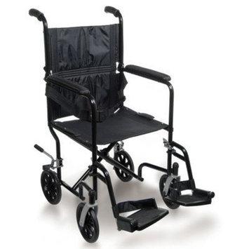 Sunrise Medical Inc Breezy EC Ultra Lightweight Transport Standard Wheelchair Seat Size: 17