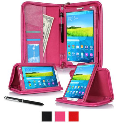roocase Samsung Galaxy Tab S 8.4 Case - Executive Portfolio Leather 8.4-Inch 8.4