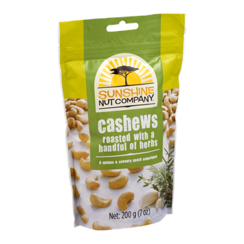 Sunshine Nut Company Cashews Roasted with a Handful of Herbs