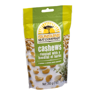 Sunshine Nut Company Cashews Roasted with a Handful of Herbs