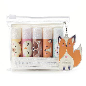 Simple Pleasures 5-pc. Critters Lip Balm Gift Set, Yellow/Red