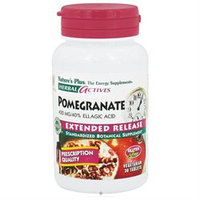 Nature's Plus Herbal Actives Pomegranate - 400 mg - 30 Vegetarian Tablets