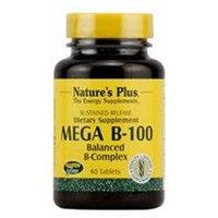 Nature's Plus Mega B-100 - 60 Tablets