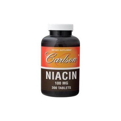 Carlson Labs - Niacin 100 mg. - 300 Tablets