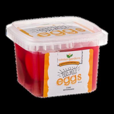 Winter Gardens Red Beet Eggs - 6 CT