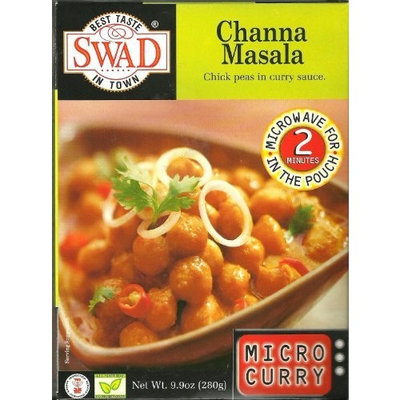Swad Channa Masala Chick Peas in Curry Sauce (Case of 10)