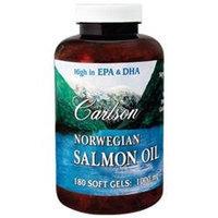 Carlson Laboratories Carlson Labs - Norwegian Salmon Oil 1000 mg. - 180 Softgels