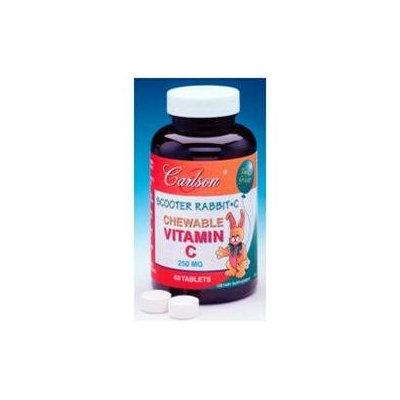Carlson Laboratories Chewable Vitamin C 250 MG - 120 Tablets - Vitamin C
