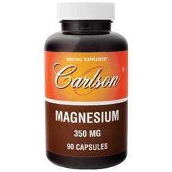 Carlson Laboratories Magnesium 350 MG - 90 Capsules - Magnesium