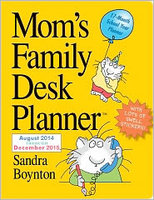 2015 Mom's Family Weekly Planner Workman Publishing