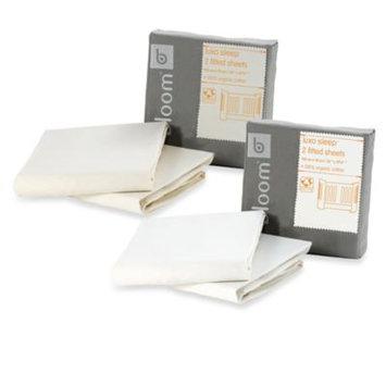 Bloom Luxo Sleep Organic Fitted Sheet (2 pk) - Natural Wheat
