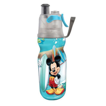 O2Cool Kids Mist 'N Sip 12 Ounce Insulated ArcticSqueeze Hydration Bottle - Disney Mickey Mouse