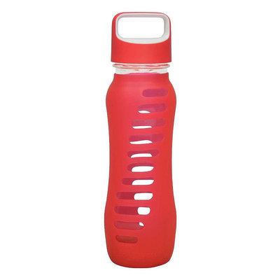 Eco Vessel Sports Bottles 22 oz. Surf Single Wall Glass Bottle - Raspberry Pink SWG650RP
