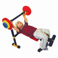 Redmon Fun & Fitness Kids Weight Bench
