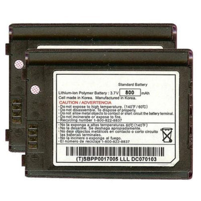 Battery for LG LGLP-AGKM (2-Pack) Replacement Battery