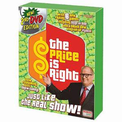 The Price Is Right DVD 2nd Edition ages 8+